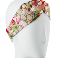 Gucci GG Blooms Silk Headband