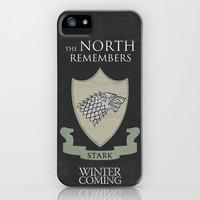 Game Of Thrones 10 iPhone & iPod Case by Misery