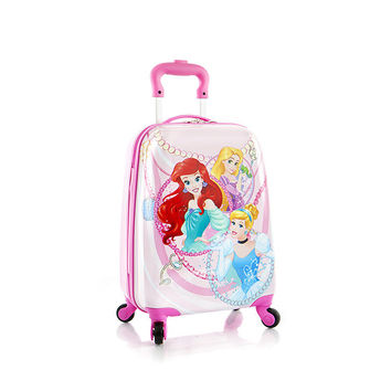 Heys Disney Princess Spinner Suitcase - Carry On Luggage