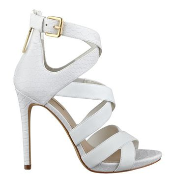 Abby Strappy Heels | GUESS.com