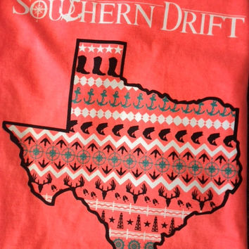 TEXAS Tank Southern Drift Comfort Color