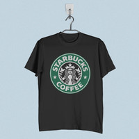 Men T-Shirt - Starbucks Coffee Logo