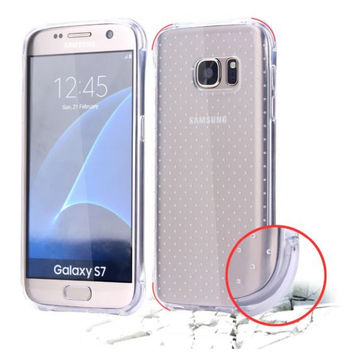 Galaxy S7/ S7 Edge Soft TPU Gel Case Drop Protection Ultra Slim Rubber Flexible Soft