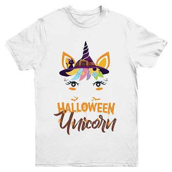Halloween Costume Unicorn Witch Bats Youth