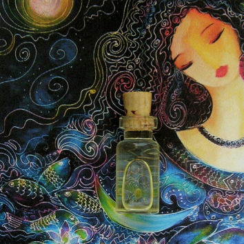COSMIC BEAUTY Potion Ritual Oil Elixir Anointing Oil Spell Oil Glamour Oil ~ Wicca Witchcraft Hoodoo Pagan