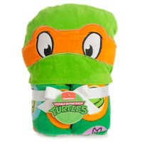 Nickelodeon™ Teenage Mutant Ninja Turtles Michelangelo Toddler Hooded Towel