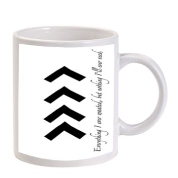 Gift Mugs | Liam One Direction Arm Tattoos Quotes Ceramic Coffee Mugs
