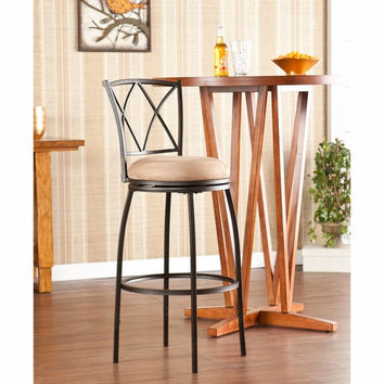 Wadsworth Adjustable Counter/Bar Stool by Southern Enterprises