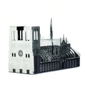 Notre Dame Cathedral Architectural Model Kits