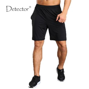 Detector Men Short Jogger Workout Fitness Bottoms High Quality Body building Ball And Leisure Beach Board Shorts