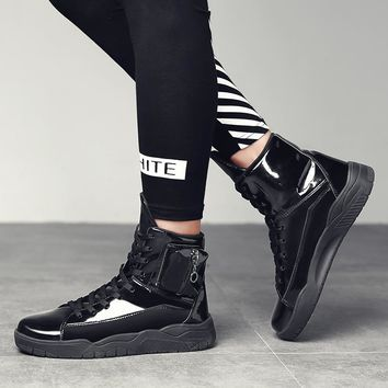 Punk Style Ankle Sneakers