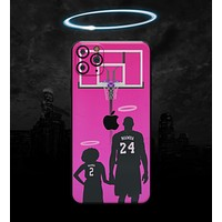 MAMBA // Pink - Non-Profit Memorial Skin-Kit for the Apple iPhone 11, 11 Pro or 11 Pro Max (All iPhone versions available)