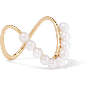 SARAH & SEBASTIAN - Perle Heirloom 9-karat gold pearl ring