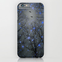 The Sight of the Stars Makes Me Dream (Geometric Stars Remix) iPhone & iPod Case by Soaring Anchor Designs