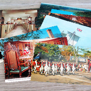 15 Vintage Postcards Unused Virginia Themed Postcards by LetterKay