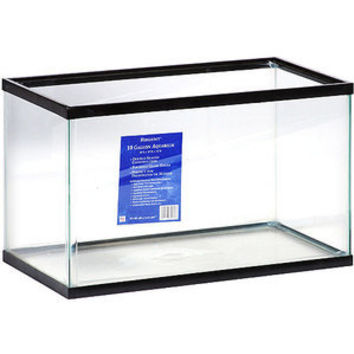 Walmart: Basic Aquarium, empty 10 gallon