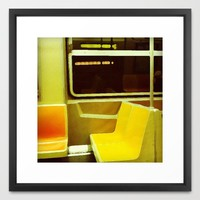 metro v.2 Framed Art Print by Trebam | Society6