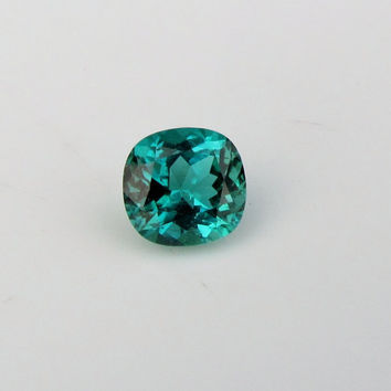 Paraiba Type Tourmaline from Mozambique 4 cts Rare Neon Color Loose Faceted Gemstone for Fine Jewelry