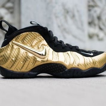 "Nike Air Foamposite Pro ""Metallic Gold"""