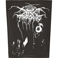 Dark Throne Men's Transilvanian Back Patch Black