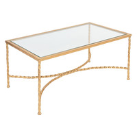 Safavieh Couture Matilda Coffee Table - Gold