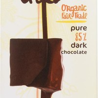 THEO CHOCOLATE: Organic Dark Chocolate 85% Cacao, 3 oz