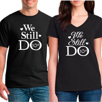 Couples Anniversary Shirts | Our T Shirt Shack