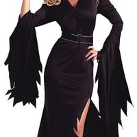 Black Witch Costume Set