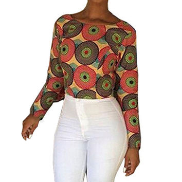 Women Fashion Charming Girls Stylish Comfortable O Neck Backless Casual Top Blouse Multicolor S/M/L/XL