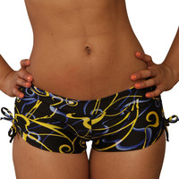 Cheeky Print Tie Side Shorts- Sassy Assy