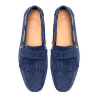 FRINGED MOCCASIN - Shoes - Man - ZARA United States