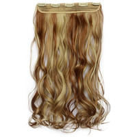 120g One Piece 5 Cards Hair Extension Wig     27AH86