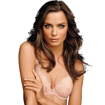 Maidenform; Comfort Devotion; Embellished Plunge Push-Up Bra