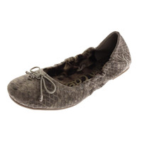 Sam Edelman Girls Fiona Embossed Ballet Flats