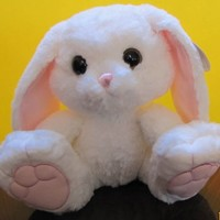 "Aurora Stuffed Animal 10"" HOPPITY BUNNY Item # 08682 NWT"