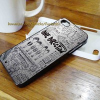 One Direction Phone Cases, iPhone 6/5C/5S/5/4/4S Case, Samsung Galaxy Case
