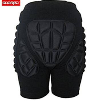 SOARED Adult Children ChSports Snowboarding Shorts Hip Protective Bottom Padded For Ski Roller Skate Snowboard Hip Protection P
