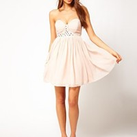 Lipsy Summer Gem Babydoll Dress at asos.com