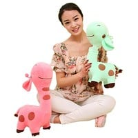 18cm Little Giraffe Animal Plush Toys Kids Girl Birthday Christmas Gifts