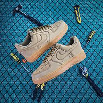 Nike Air Force 1 Low Af1 07 Flax Wheat Sport Shoes Best Goods