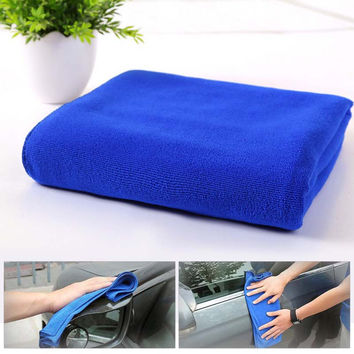 10pcs Car Styling High Efficient Anti-grease Color Dish Cloth Fiber Washing Towel Magic Kitchen Cleaning Wiping Rags For Window