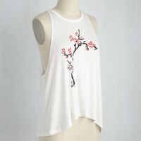Peak Bloom Tank Top | Mod Retro Vintage Sweaters | ModCloth.com