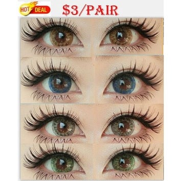 Cosmetic Colorful Contact Lenses