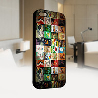 Old Poster Disney - Photo on Hard Cover For Iphone 4 / 4S Case, iPhone 5 Case - Black, White, Clear