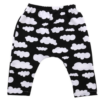 Baby Harem Pants 2016 Hot summer boys girls toddler kids trousers spring autumn baby sweat pants joggers elastic bottoms
