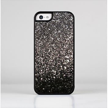 The Black Unfocused Sparkle Skin-Sert Case for the Apple iPhone 5c