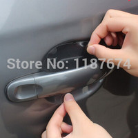 8PCS/LOT car handle protection film car exterior automotive accessories+FREE SHIPPING
