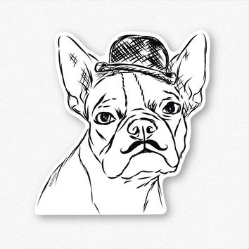 Charles the Boston Terrier - Decal Sticker