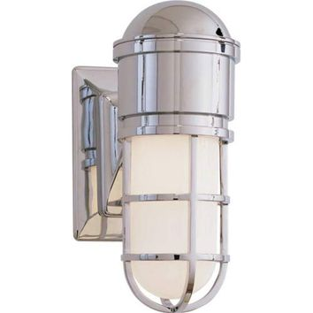 Visual Comfort and Company SL2000CH-WG Chrome Marine Wall Light
