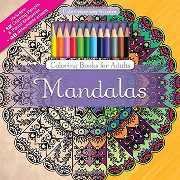 Color To Calm Adult Coloring - Mandalas